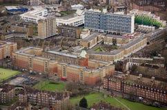 Södra London bostadsområde Arkivfoton