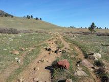 Södra Mesa Trailhead Colorado Royaltyfria Bilder