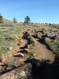 Södra Mesa Trailhead Colorado Royaltyfri Bild