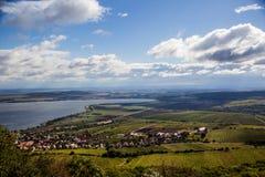 Södra Moravia Mikulov område Arkivbilder