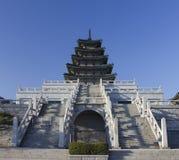 södra nationell slott för gyeonbokgungkorea museum royaltyfria bilder