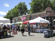Södra pärlemorfärg gatabondemarknad i Denver Royaltyfria Bilder