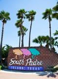 Södra Padre ö Fotografering för Bildbyråer
