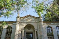 Södra Pasadena offentligt bibliotek royaltyfri fotografi