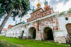Södra portar till kloster Royaltyfria Foton