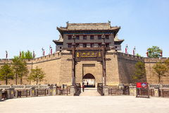 Södra porttowe i Xian royaltyfri foto
