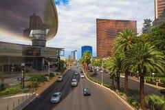 Södra remsa Las Vegas Arkivbild