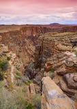 Södra Rim Grand Canyon, Arizona, USA Fotografering för Bildbyråer