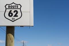 södra route för 62 africa Arkivbilder