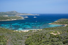 Södra Sardinia Arkivbild