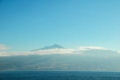 Södra sikt av Tenerife Arkivfoto