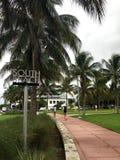 Södra strand royaltyfri fotografi