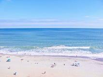 södra strandcarolina myrten arkivfoton