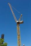 Södra strandkonstruktion Crane Portland Oregon Royaltyfri Fotografi