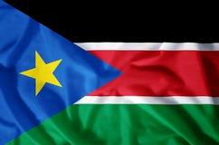 Södra Sudan stock illustrationer