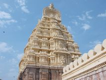 Södra tempel Arkivfoton