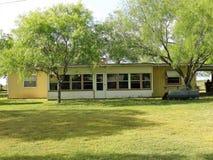 Södra Texas Mid Century Modern Ranchhouse Royaltyfria Bilder