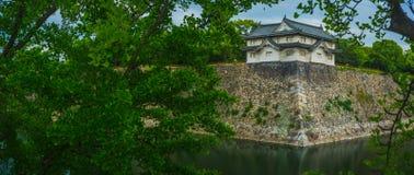Södra torn av Osaka Castle Arkivbild