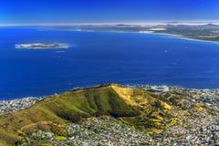 södra town för africa udd Fotografering för Bildbyråer