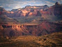 södra trail för kaibab fotografering för bildbyråer