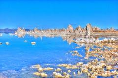 Södra Tufa för mono sjö Fotografering för Bildbyråer