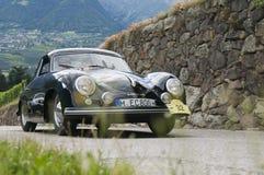 Södra tyrol klassiker cars_2014_Porsche 356_2 Arkivbild