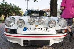 Södra tyrol klassiker cars_2015_Porsche 911 Carrera RS_front Arkivbild