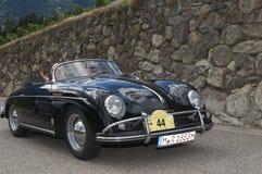 Södra tyrol klassiker cars_2014_Porsche 356 en Speedser T2 Arkivbilder