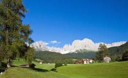 Södra Tyrol, Rosegarden Royaltyfri Bild