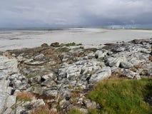Södra Uist, Hebrides Arkivfoton