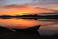 södra ural zyuratkul för lake Fotografering för Bildbyråer