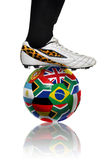 södra värld för africa kopp Royaltyfri Bild