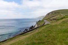 Södra västkusten Irland nära Dingle Royaltyfri Foto