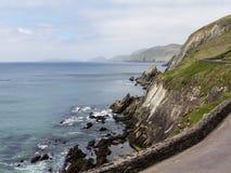 Södra västkusten Irland nära Dingle Fotografering för Bildbyråer
