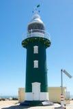 Södra vågbrytarefyr Fremantle, västra Australien Arkivfoto