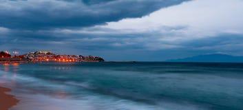 södra waveswind Royaltyfri Foto