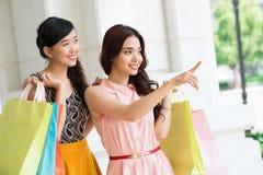 Söka efter another shoppa Royaltyfri Foto