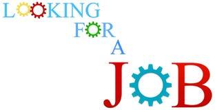 Söka efter ett jobb Royaltyfri Fotografi