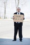 Söka efter ett jobb. arkivfoton