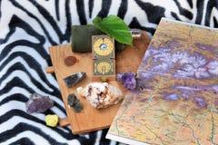 Söka efter mineraler Royaltyfria Bilder
