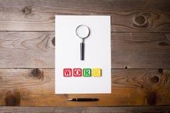 Sökande för ett jobb Arkivbild