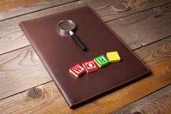 Sökande för ett jobb Arkivfoton
