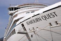 SÖKANDE FÖR M/V SEABOURN royaltyfri foto