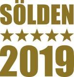 Sölden 2019 royalty free stock photos
