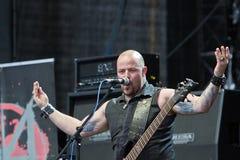 Söldner auf Metalfest 2013 Lizenzfreie Stockfotos