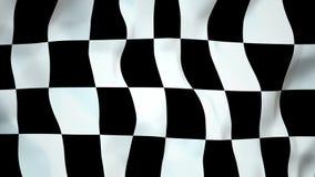 Sömlös ögla för fullföljandeflagga stock video