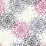 Sömlös abstrakt dekormodell Arkivbilder