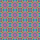 Sömlös abstrakt färgrik textur eller bakgrund med modellen Stock Illustrationer