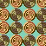 Sömlös abstrakt flerfärgad virvelmodell Arkivfoton