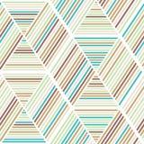 Sömlös abstrakt geometribakgrundsmodell Royaltyfri Foto